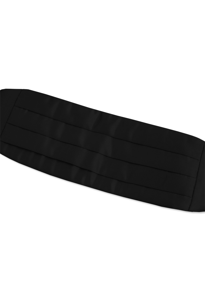 Basic Black Cummerbund