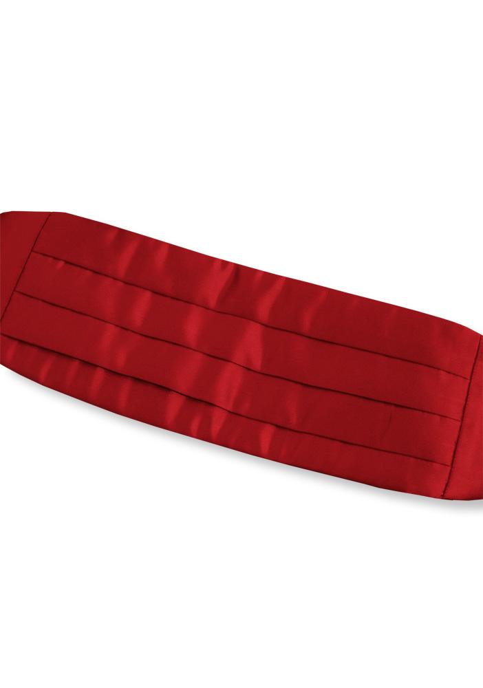 Basic Red Cummerbund