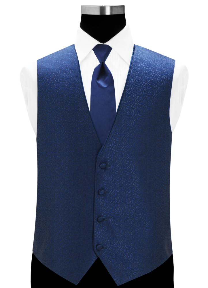 Royal Blue 'Celebration Vest by Larr Brio