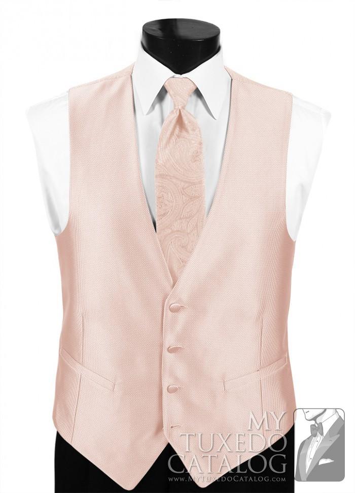 1751878db6c4e Blush 'Dynasty' Vest | Vests | MyTuxedoCatalog.com