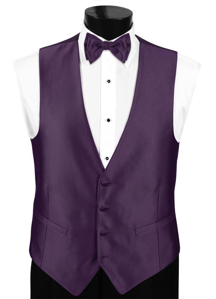 Purple 'Dynasty' Vest by FLOW