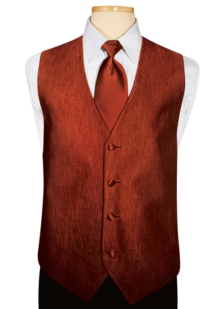 Cinnamon 'Onyx' Vest by Jean Yves