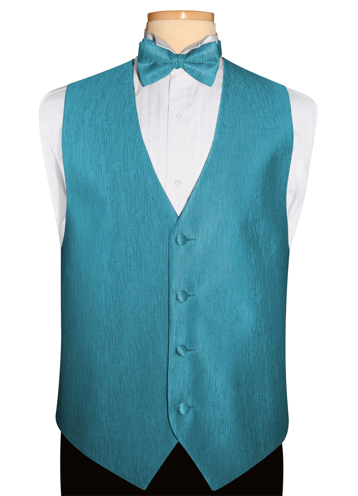 Rio Turquoise 'Onyx' Vest by Jean Yves