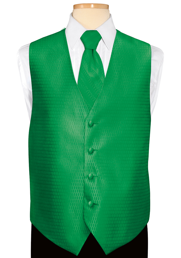 Emerald 'Crystal' Vest by Jean Yves