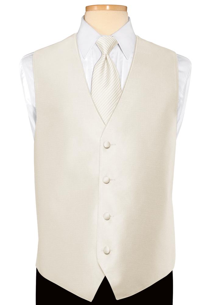 Premier Ivory 'Tango' Vest by Jean Yves