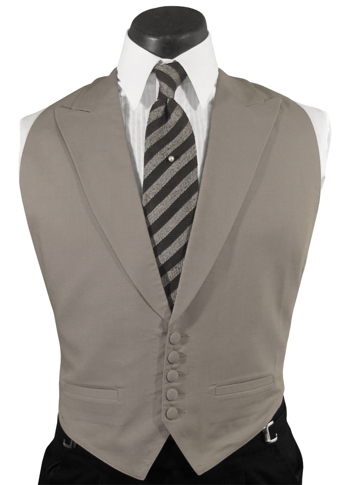Grey 'Noble' Vest: PM# VM490