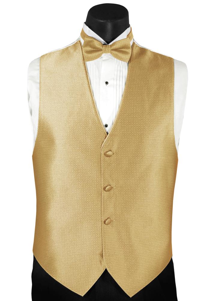 Gold 'Sterling' Vest by Mel Howard