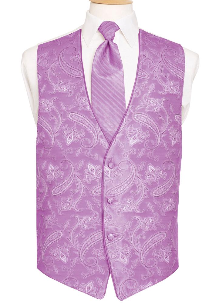 Cerise 'Sienna Paisley' Vest by Black Gold