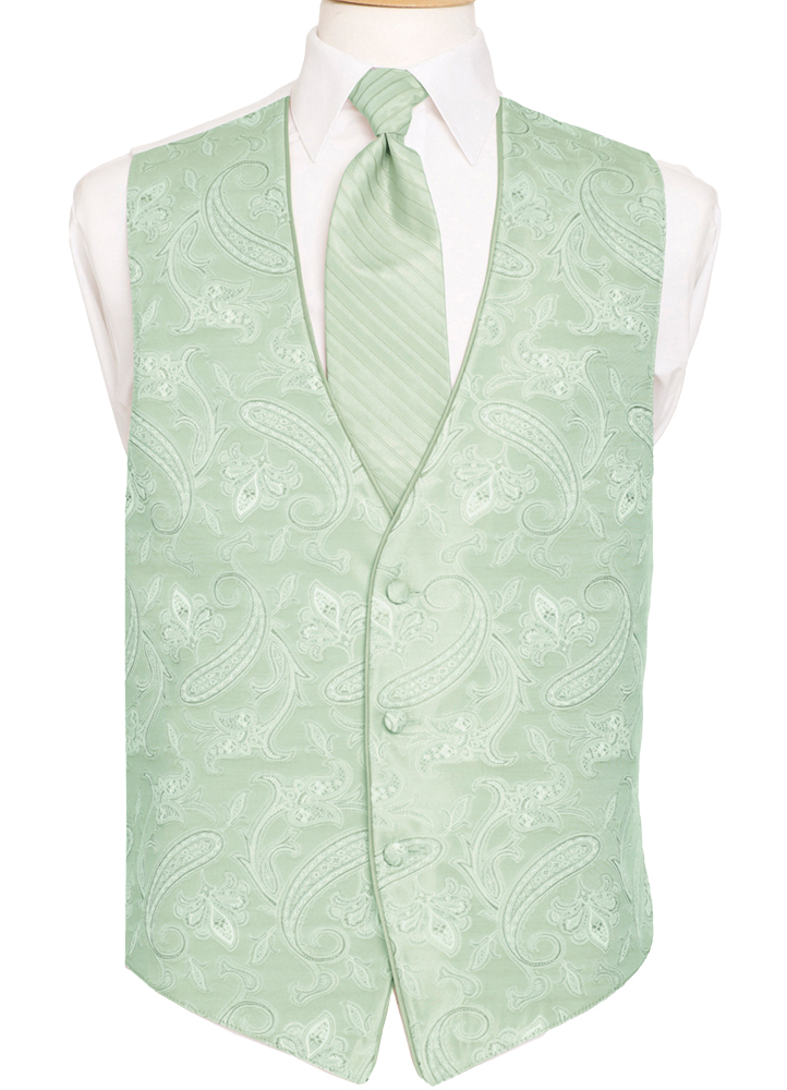 Clover 'Sienna Paisley' Vest by Black Gold