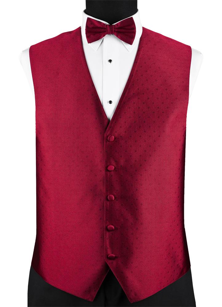 Apple Red 'Vineyard' Vest by Lauren Ralph Lauren