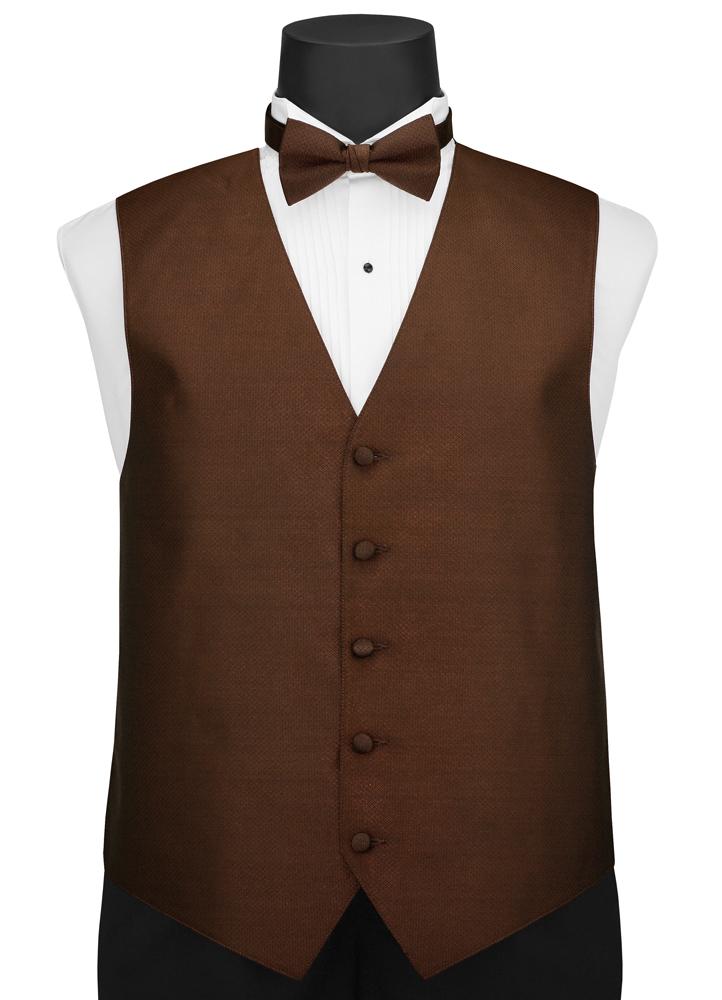 Cappuccino 'Portofino' Vest by Larr Brio
