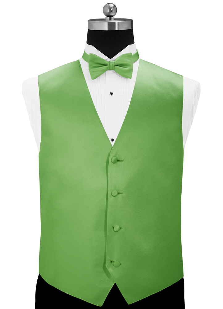 Kelly Green 'Simply Solid' Vest by Larr Brio