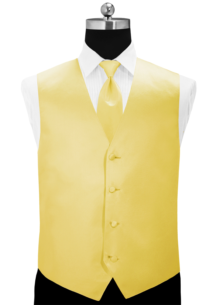 Sunbeam 'Simply Solid' Vest and Long Tie