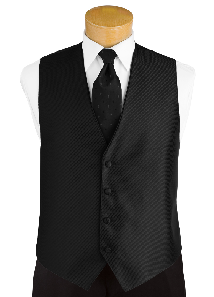 Black 'Synergy' Vest by FLOW