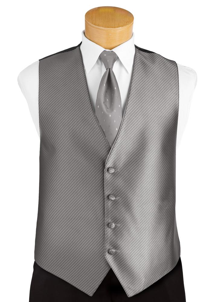 Bali Silver 'Synergy' Tuxedo Vest