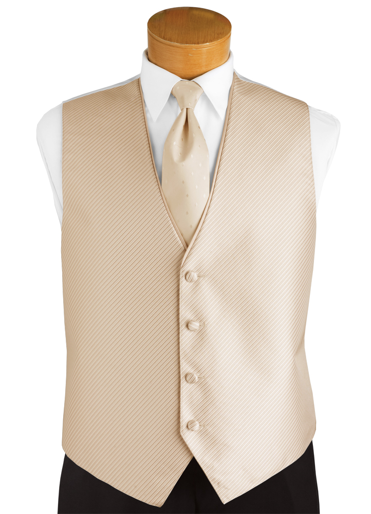 Champagne Tan 'Synergy' Vest by FLOW