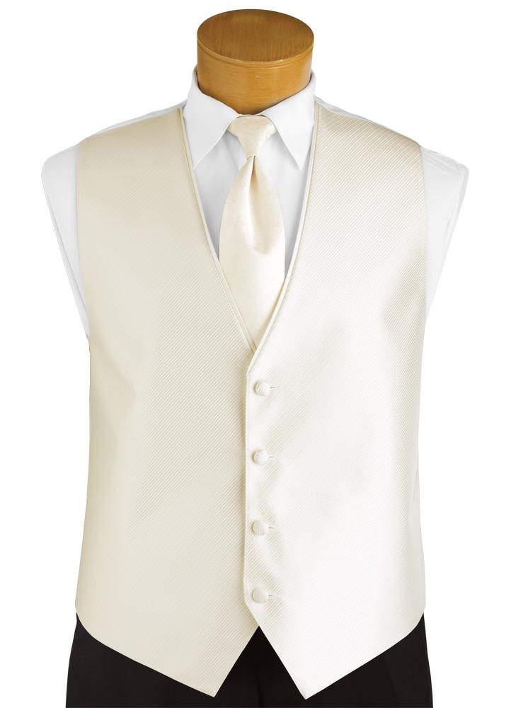Light Ivory 'Synergy' Vest by FLOW