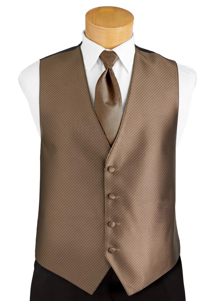 Latte 'Synergy' Tuxedo Vest