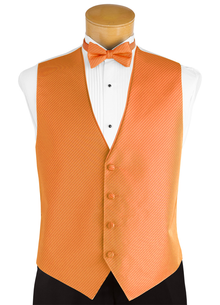Orange Crush 'Synergy' Tuxedo Vest