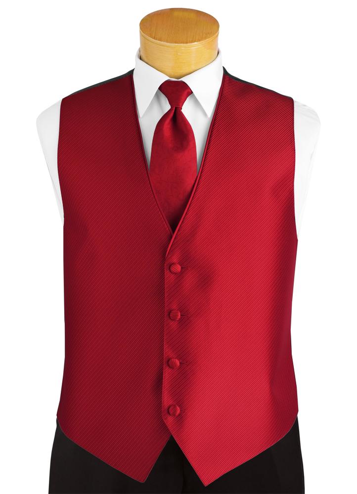 Ferrari Red 'Synergy' Vest by FLOW