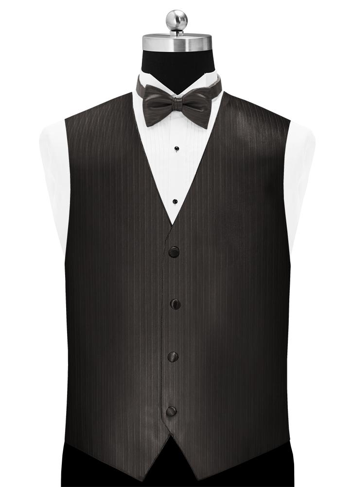 Pewter 'Vertical' Vest by Larr Brio
