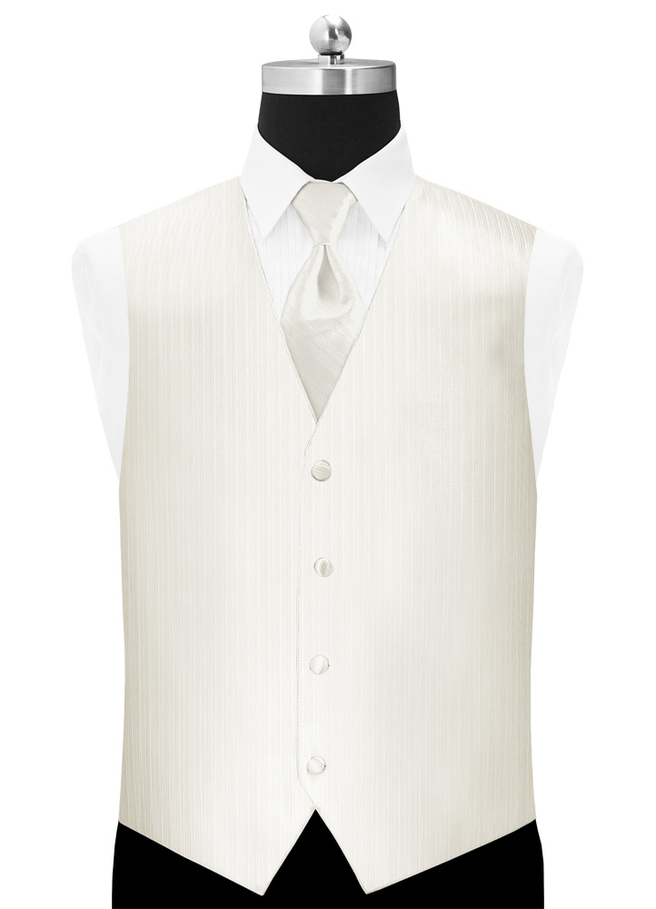 Diamond White 'Vertical' Vest