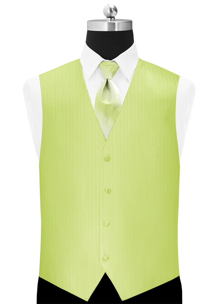 Lime 'Vertical' Vest
