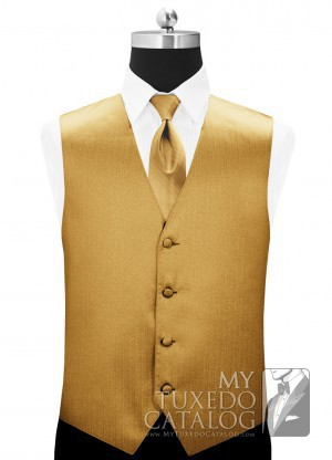 Metallic Gold Vertical Dot Cummerbund Cummerbunds